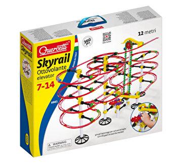 Set Quercetti - Skyrail roller coaster cu elevator, 12 m