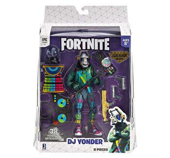 Fortnite - Pachet cu 1 figurina articulata si accesorii Legendary Series DJ Yonder S2