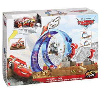 Set de joaca Cars XRS, provocarea de pe pista in noroi