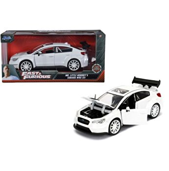 Masinuta metalica Fast and Furious - Little nobody's Subaru WRX, scara 1:24