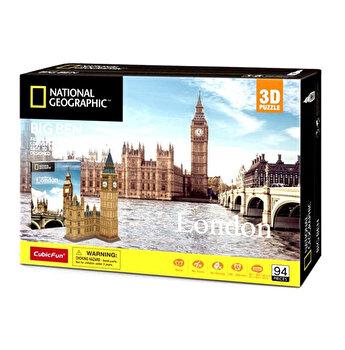 Puzzle 3D + Brosura Big Ben, 117 piese