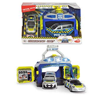Set de joaca cu masinute Evadarea din inchisoare, Dickie Toys