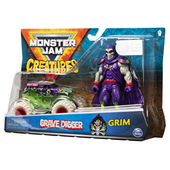 Set Monster Jam - Groparul si Grim