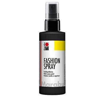 Vopsea spray pentru materiale textile, 50 ml, Negru