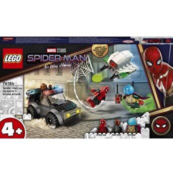 LEGO Marvel - Omul Paianjen contra Atacul dronei lui Mysterio 76184