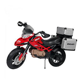 Motocicleta electrica Ducati Enduro, 12V, rosu/negru