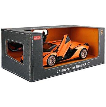 Masina cu telecomanda Lamborghini Sian, portocaliu, scara 1 la 14