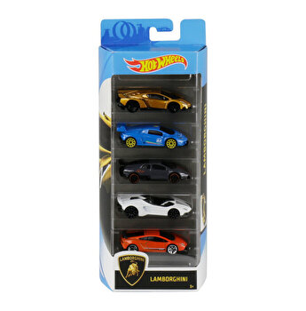 Set 5 masini, Hot Wheels Lamborghini