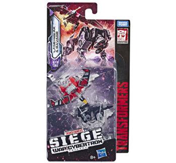 Transformers Generation War for Cybertron - Figurine Micro Masters Laserbeak & Ravage