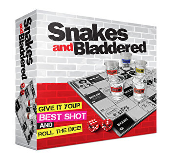 Joc de petrecere cu shoturi Snakes & Bladdered