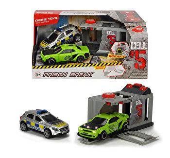 Set de joaca cu masinute Sectia de politie, Dickie Toys