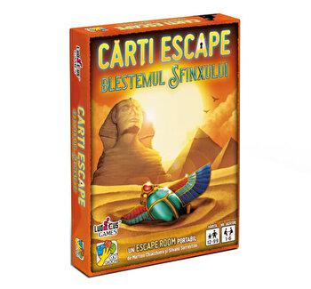 Joc Carti Escape - Blestemul Sfinxului