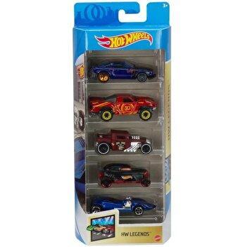Set 5 masini, Hot Wheels Legends
