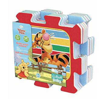 Puzzle Trefl din spuma, ursuletul Winnie the Pooh