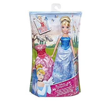 Disney Princess - Papusa Cenusareasa cu tinuta de schimb
