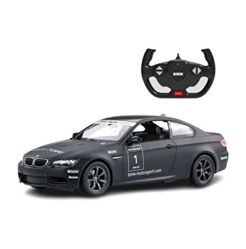 Masina cu telecomanda BMW M3 negru cu scara 1 la 14