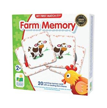 Joc de memorie - Ferma, 20 piese