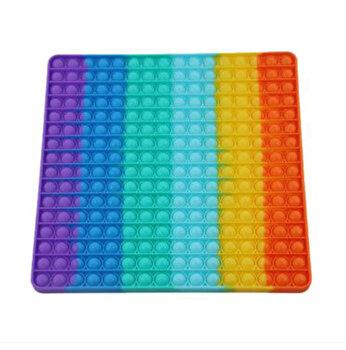 Jucarie Pop It Now - Patrat, multicolor