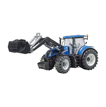 Jucarie Bruder, Agriculture - Tractor New Holland T7.315 cu incarcator frontal