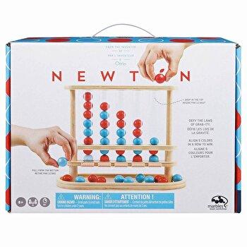 Joc Marbles Newton 5, in linie din lemn