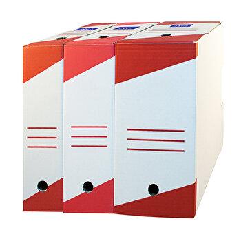 Cutie de arhivare, 330x255x100 mm, 10 buc., alb