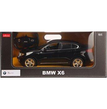 Masina cu telecomanda BMW X6, negru, scara 1 la 14