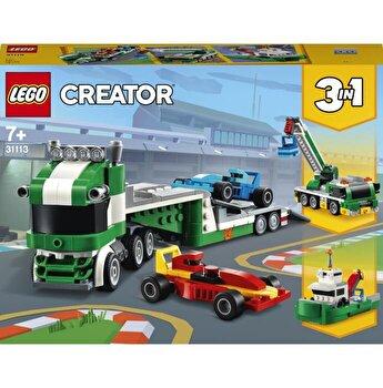 LEGO Creator 3 in 1 - Transportor de masini de curse 31113