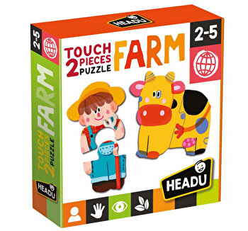 Puzzle Headu Tactil - Ferma