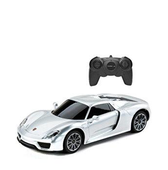 Masina cu telecomanda Porsche 918 Spyder, argintiu, scara 1 la 24
