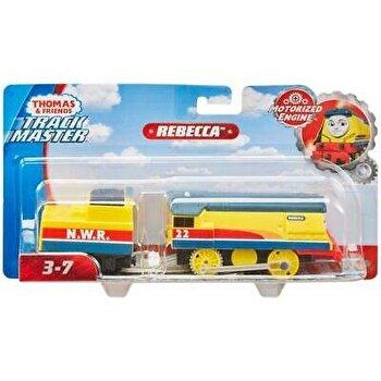 Thomas Trackmaster - Locomotiva Rebecca cu vagon