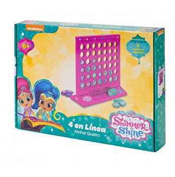 Joc de societate 4 in Linie, Shimmer and Shine