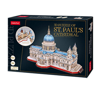 Puzzle 3D - Catedrala St. Paul, 643 piese