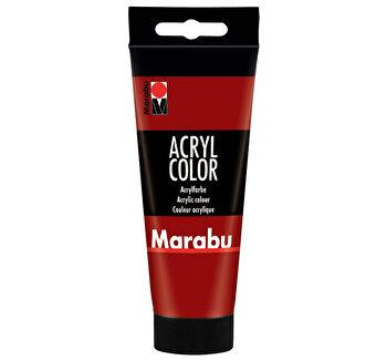 Culoare acrilica Marabu, 100 ml, Rosu Rubin