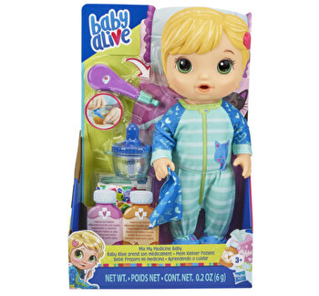 Baby Alive - Bebelusul bolnavior, blond