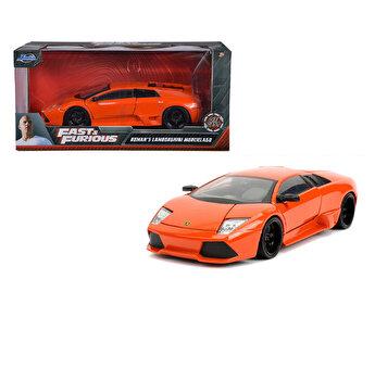 Masinuta Fast and Furios Lamborghini Murcielago, scara 1 la 24