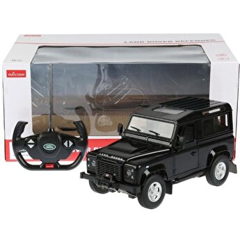 Masina cu telecomanda Land Rover Defender, negru, scara 1 la 14