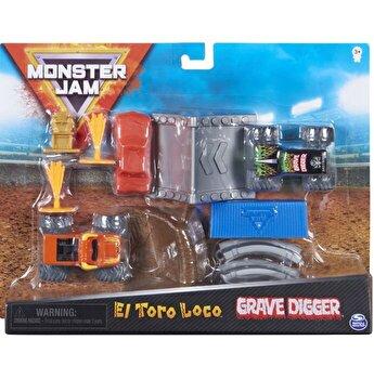 Monster Jam, Set de joaca El Toro Loco si Groparul