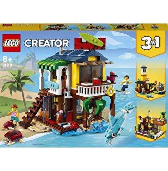 LEGO Creator 3 in 1 - Casa de pe plaja a surferilor 31118