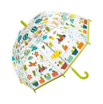 Umbrela colorata - Broscute