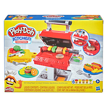 Play-Doh, Set Grill and Stamp