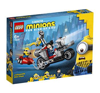 LEGO Minions - Urmarire de neoprit cu motocicleta 75549