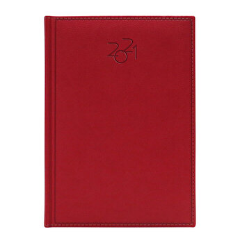 Agenda Dakota, datata A5, coperta rosu