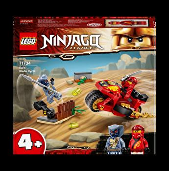 LEGO Ninjago - Motocicleta Blade a lui Kai 71734
