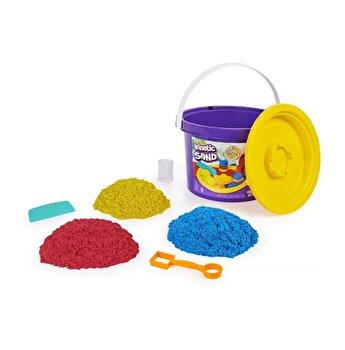 Kinetic Sand, galetusa cu 3 tipuri de culori, 2.72 kg