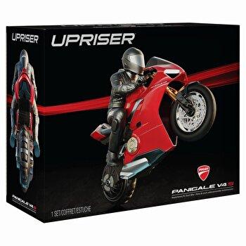 Motocicleta RC, Ducati Upriser pe o roata in viteza