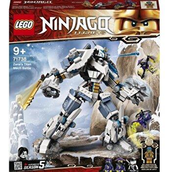 LEGO NINJAGO - Lupta cu robotul de titan a lui Zane 71738