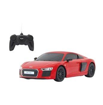 Masina cu telecomanda Audi R8 rosu cu scara 1:24