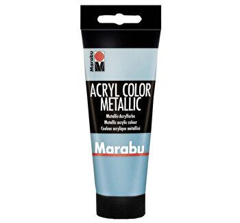 Culoare acrilica Marabu, 100 ml, Petrol Metalizat