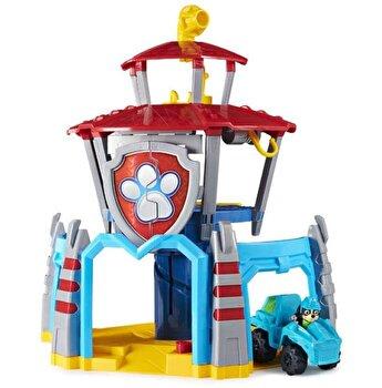 Patrula Catelusilor, Turnul de control Dino cu vehicul si catelus exclusiv Rex