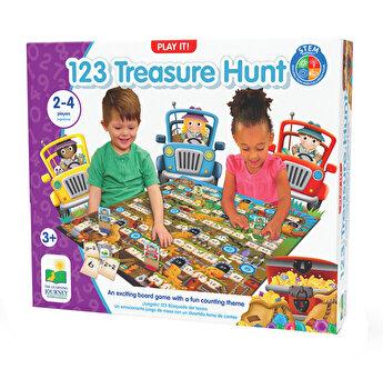 Joc 123, Vanatoare de comori